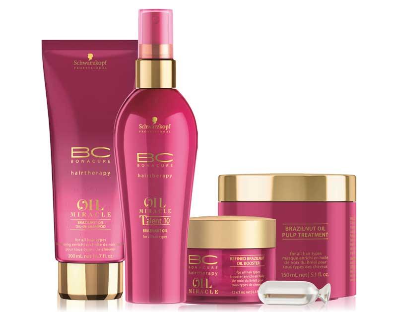 Protege el color y mima el cabello con la nueva gama BC Oil Miracle Brazilnut Oil