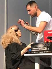 Andrés García Torrente, campeón de peluquería en el salón Beauty Valencia