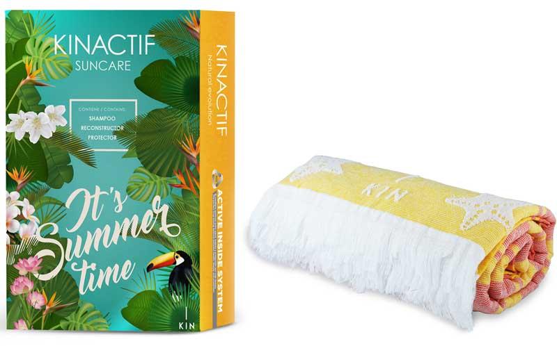 Nuevo pack kinactif Suncare de KIN Cosmetics para superar la época de más calor con el máximo cuidado y respeto para el cabello
