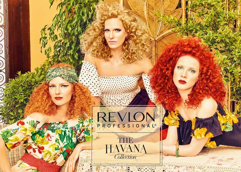 Revlon Professional propone tres <i>looks</i> vibrantes y tropicales en su colección Havana Collection para primavera / verano