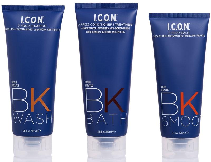 I.C.O.N. lança BK, linha de tratamento alternativo à queratina