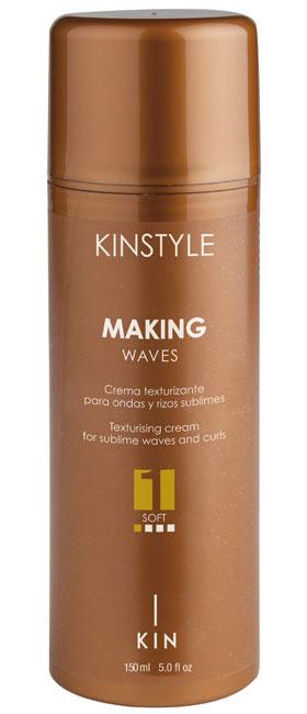 Cachos e ondas sublimes, com movimentos, graças ao novo Kinstyle Making Waves