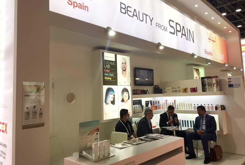 Periche Profesional en la Beauty World Middle East