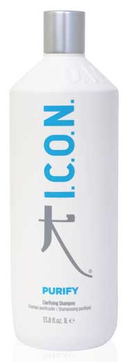 Purify de I.C.O.N, para una cabello libre de residuos