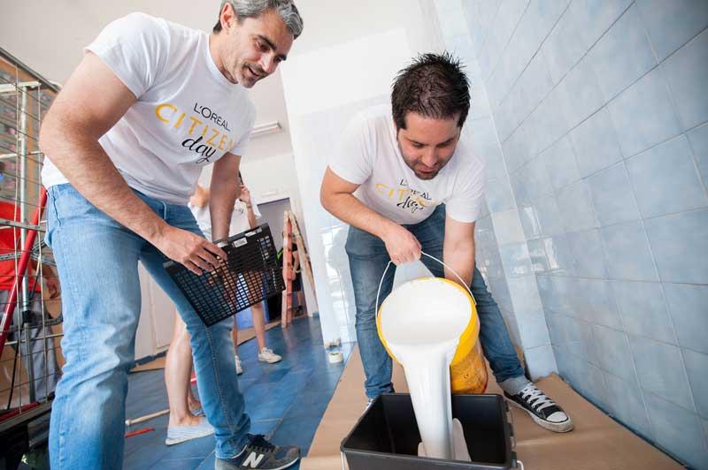Cerca de mil empleados de L'Oréal España se movilizan en proyectos de acción social