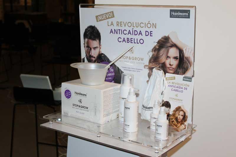Calurosa acogida del sistema anticaída Stop & Grow en el Studio Beauty Market