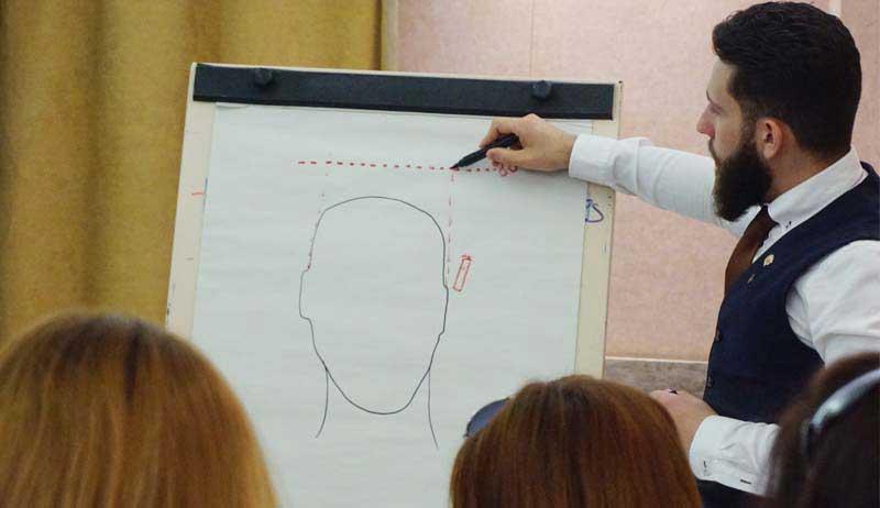 Termix cautiva al público con sus formaciones de barbería