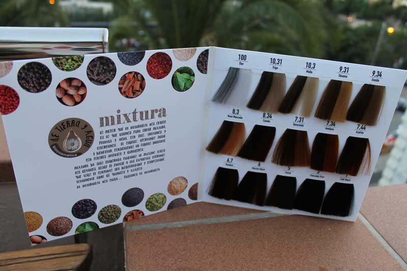 Presentación de Mixtura, la primera coloración 100% orgánica del mercado