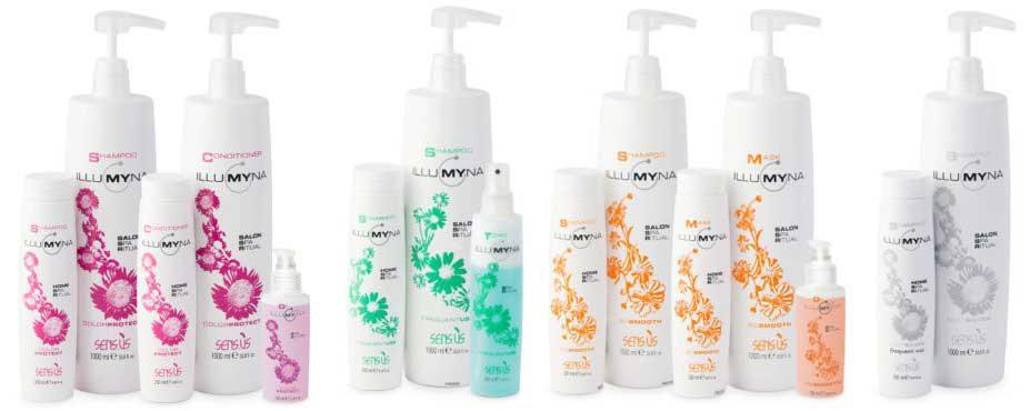 Illumyna, la línea de productos para la belleza y el cuidado del cabello para uso profesional