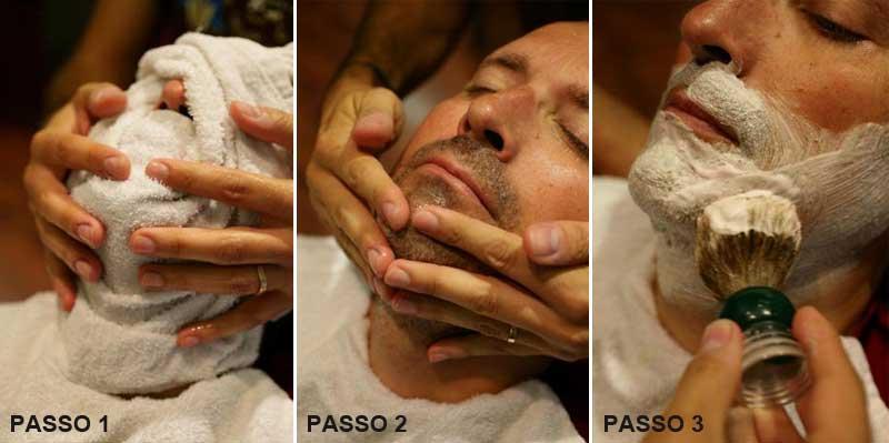 Como maximizar a experiência sensorial no protocolo de barbear
