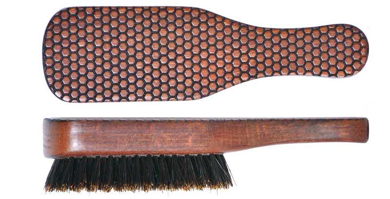 Cabello, barba y bigote cuidados con los nuevos cepillos Beehive<