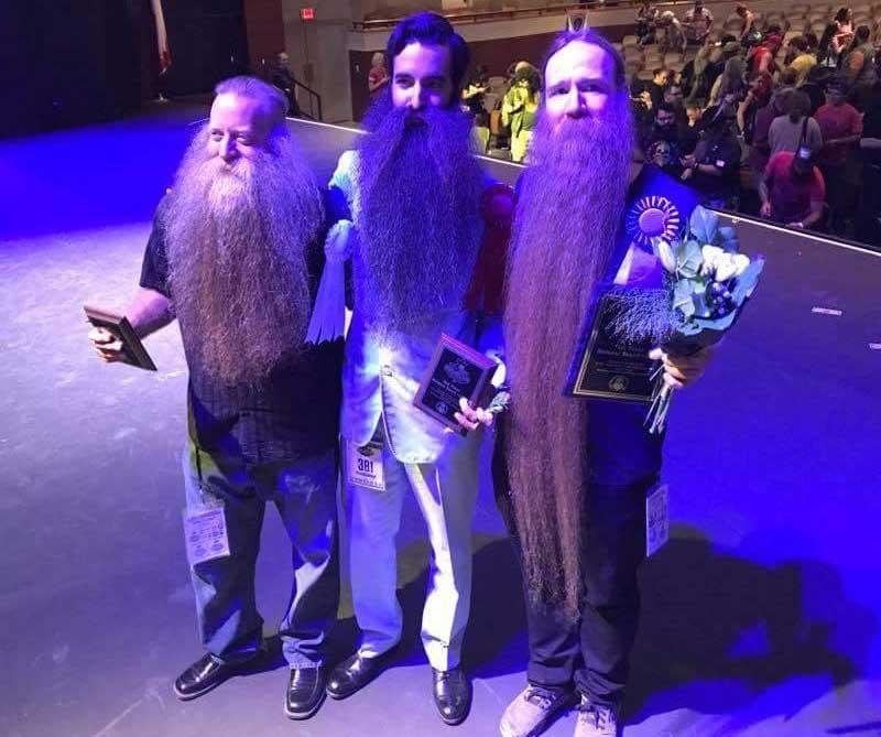 Las barbas y bigotes nunca vistos se dan cita en Austin (Texas)