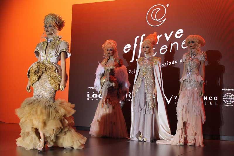 El Show Effervescene, de Mikel Luzea, celebra su IV Edición en Salón Look 2017