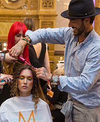 Antonio Corral Calero e os seus looks de passerelle na London Fashion Week