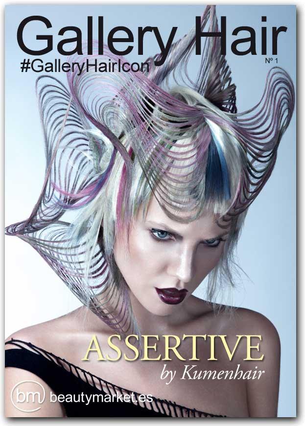 Gallery Hair ya tiene su primera portada digital. Te presentamos nuestro nº 1 con Assertive la colección más vanguardista de Kumenhair
