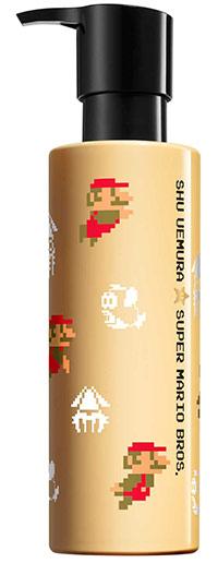 Shu Uemura art of hair redesenha os seus produtos mais emblemáticos e ilustra-os com os desenhos de Mario Bross, numa edição de luxo