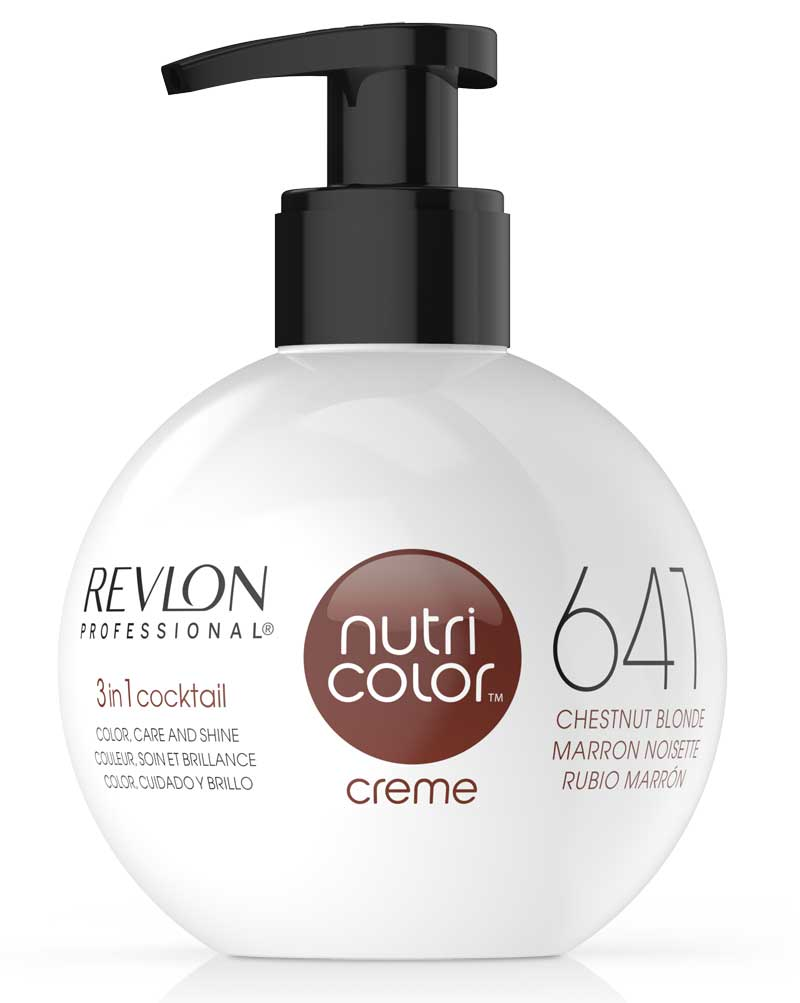 Revive el color del cabello con Nutri Color Creme en un sólo paso
