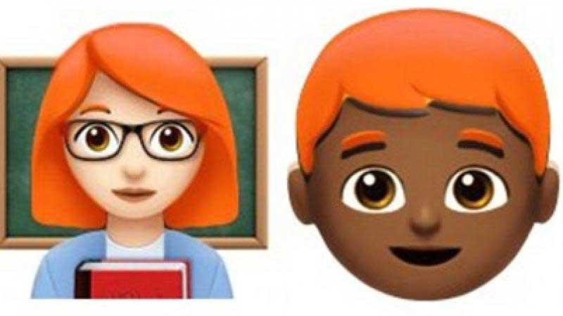 Por fin los pelirrojos tendrán sus propios emojis