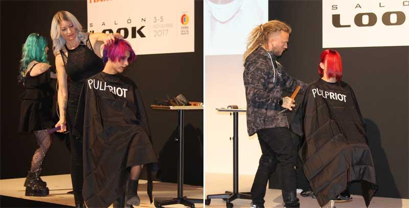 Pulp Riot estrena su técnica arco íris en Salón Look