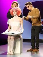 Lo último en peluquería avantgarde deslumbra en la cuarta edición de Effervescene