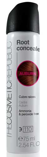 Auburn Cubre Raíces caoba  The Cosmetic Republic