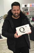 Rafael Bueno obtiene una Estrella theQHair, las 'Michelín' de la Peluquería Española
