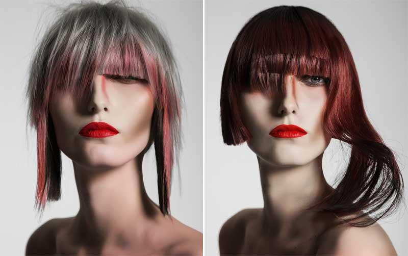 Ulises Mesa y cuatro creaciones de alta costura para el cabello femenino