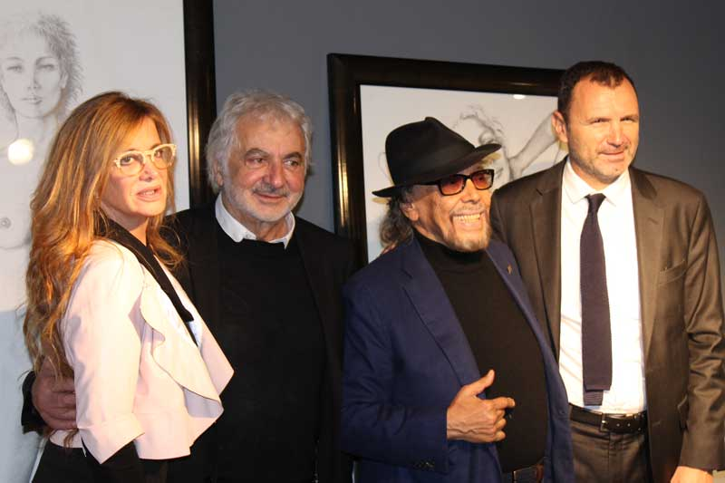 Jocelyn Llongueras, Frank Provost, Lluís Llongueras y Fréderic Logodin.