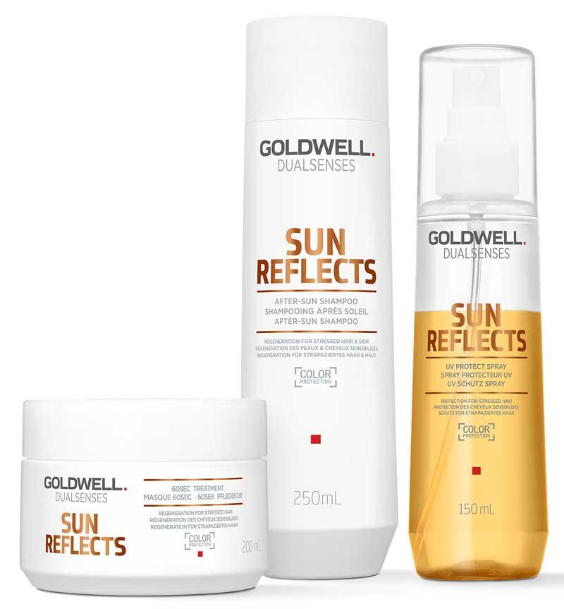 Sun Reflects, tratamiento profesional que mantiene el cabello sano e ...