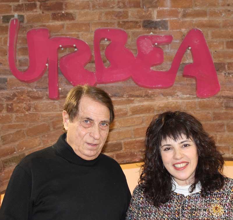 Josep Urbea con Anna León