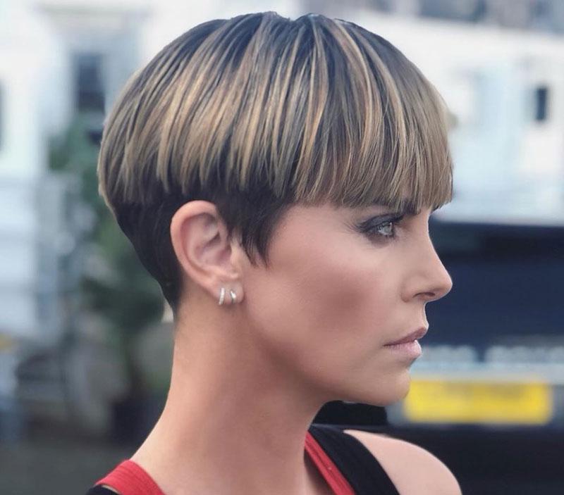 Charlize Theron - Cambio de look