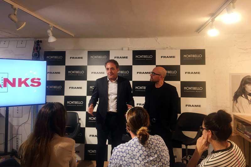 Montibello y Frame Hair Club presentan su acuerdo de colaboración