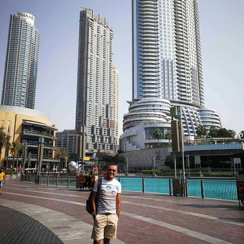 Carlos Bardullas en Dubai