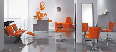El color naranja base del sal n orenji for Cortinas naranjas para salon