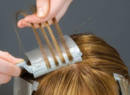 Как сделать мелирование волос фото