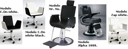 Banco de pruebas sillones de caballero - Sillones de peluqueria ...