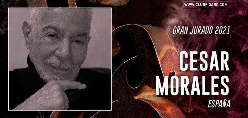 Premios Fígaro - César Morales