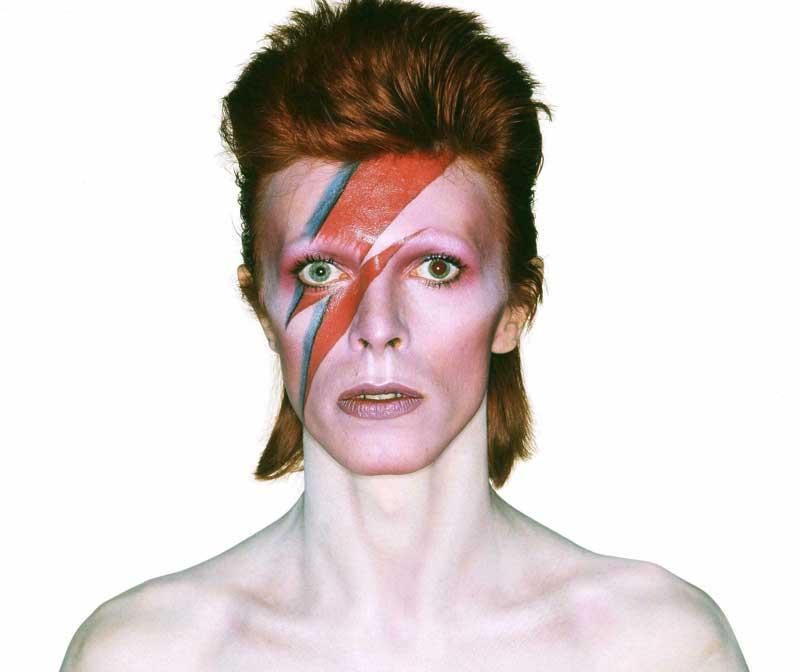 David Bowie-mullet