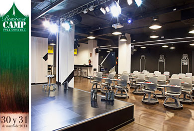 Business Camp de Paul Mitchell Espa�a.