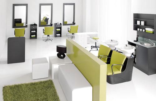 1000 images about mobiliario y decoracion salon on - Salones de peluqueria decoracion fotos ...