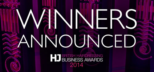 Ganadores del British Hairdressing Business Awards.