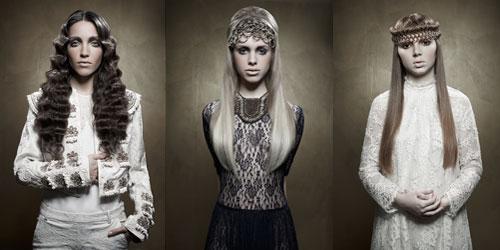 Gudinn�r by Marta Cid, finalista en el Fashionist Aveda Master Jam 2014.