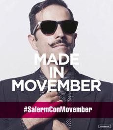 Salerm Cosmetics apoya al movimiento Movember.