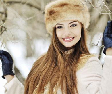 Cuidados del cabello en invierno.