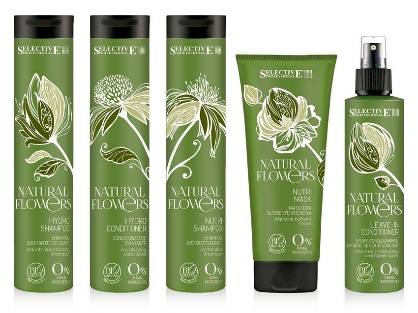 Natural Flowers, nueva gama de cuidado del cabello.
