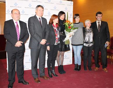 Homenaje a Felicitas Ord�s en Matar�.