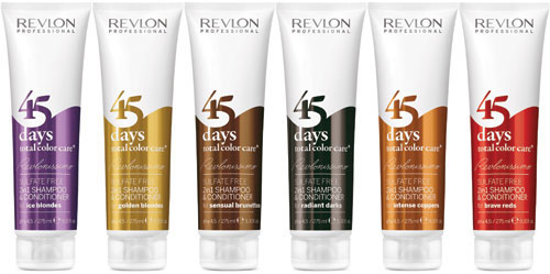 Revlonissimo 45 days total color care, producto del a�o 2015.