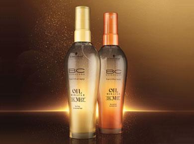 BC Oil Miracle Mist, de Schwarzkopf Professional.