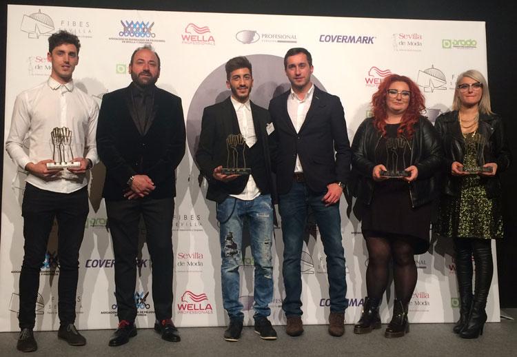 Premios Picasso de la peluquer�a andaluza.