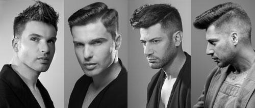 'Pompadour', nueva tendencia en corte masculino de Jordi P�rez y Termix.